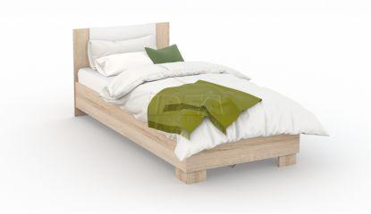 Купить кровать: полутороспальная сонома белый по цене 9 290р. в Мурманске, интернет-магазин ИДЕЯ